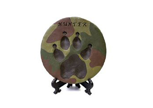 Paw Print - Custom Painted Image