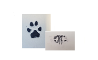 Ink Paw or Nose Print Image
